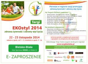 e-zaproszenie Targi EKOstyl